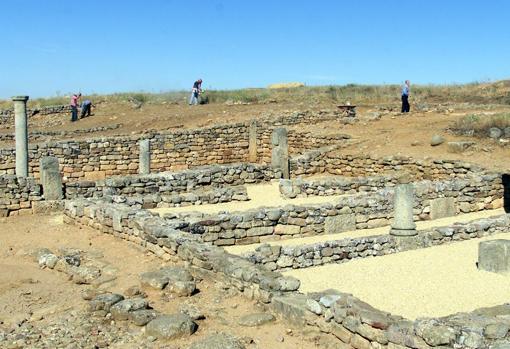 Restos de la ciudad de Numancia
