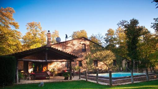 Imagen de la casa rural de El castañar de Aracena