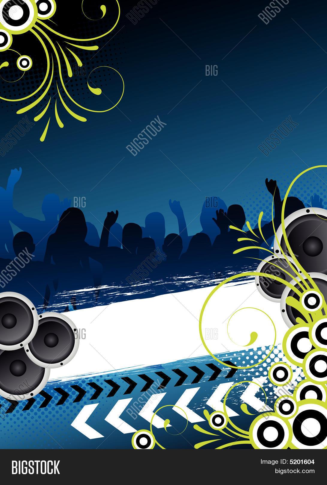 Blue Party Flyer Design