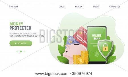 Money Online Banking Vector Photo Free Trial Bigstock