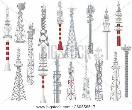 Imágenes, ilustraciones y vectores de Telecomunicaciones