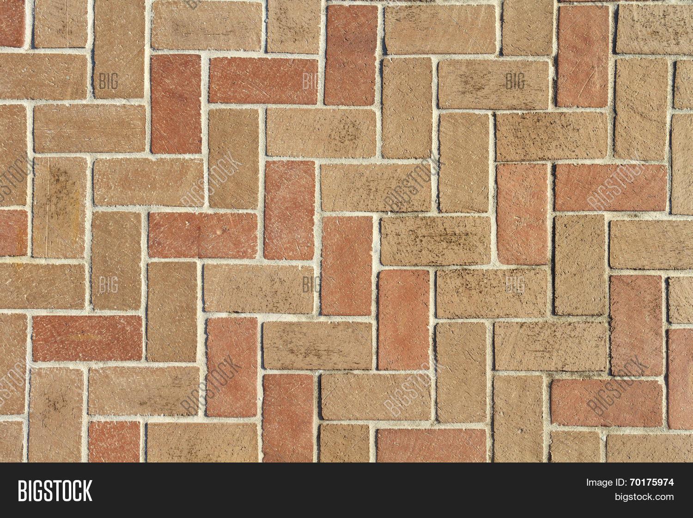 brick pavers image photo
