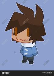 Chibi Anime Boy He Image & Photo Free Trial Bigstock