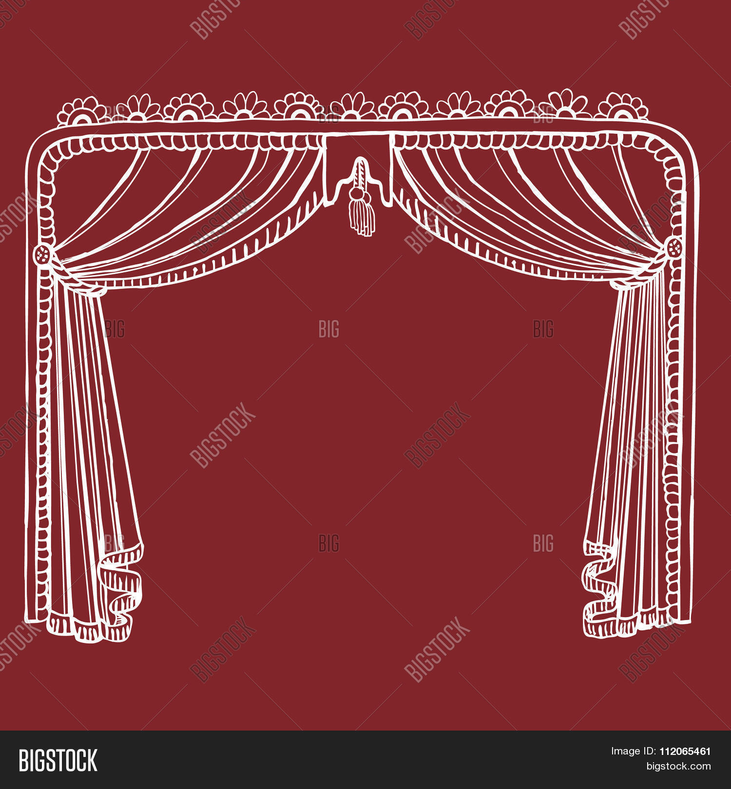 hand drawn theater vector photo free