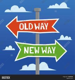 old way new way [ 1500 x 1620 Pixel ]