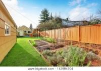 Backyard Fence Images, Illustrations & Vectors (Free ...