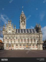 Medieval Town Hall Image & Photo Free Trial Bigstock