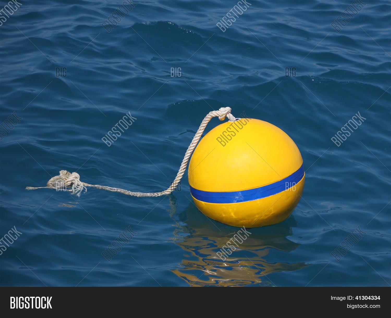 Yellow Round Buoy Image & Photo (Free Trial)   Bigstock