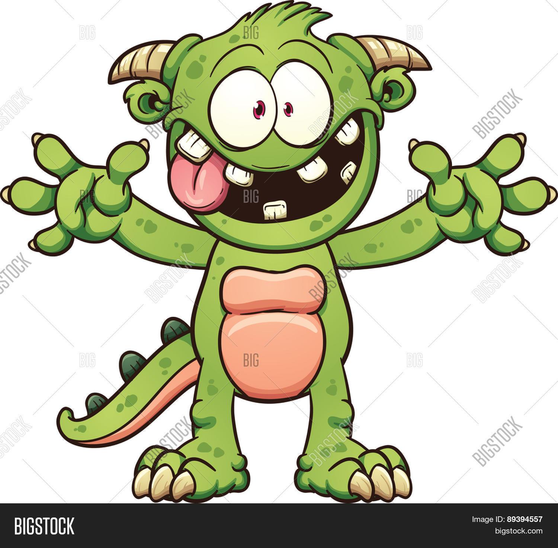 Vector Y Foto Green Cartoon Prueba Gratis