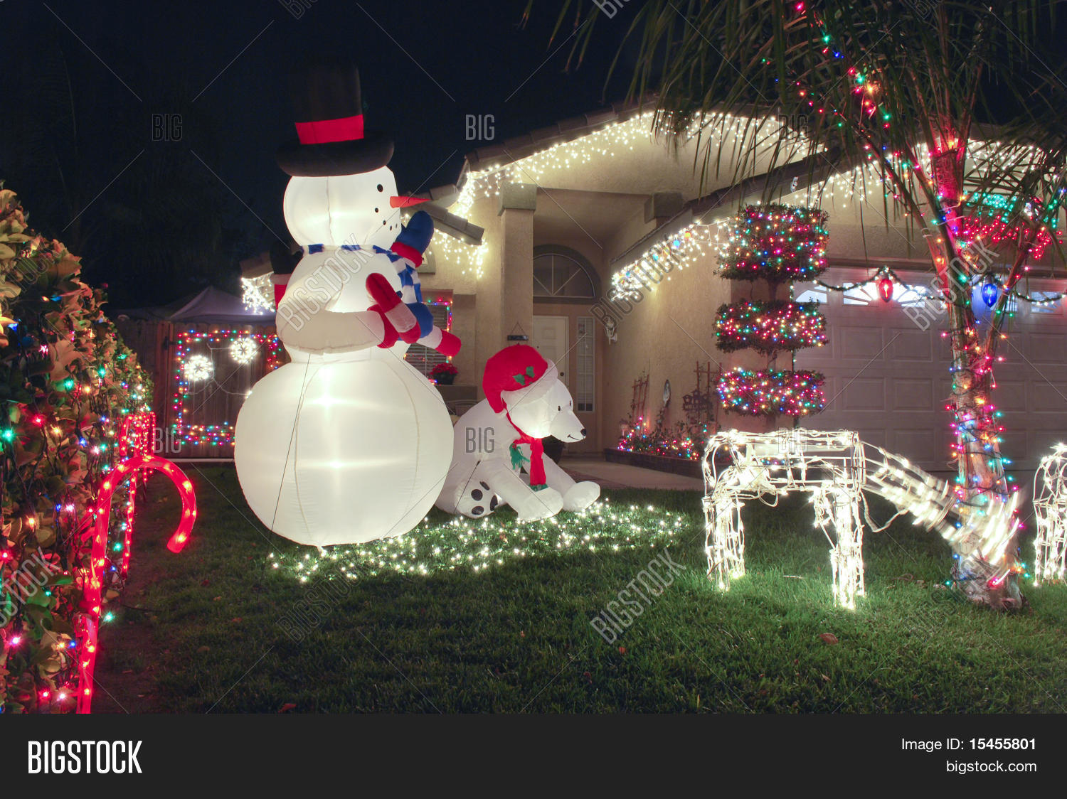 Front Lawn Christmas Decorations
