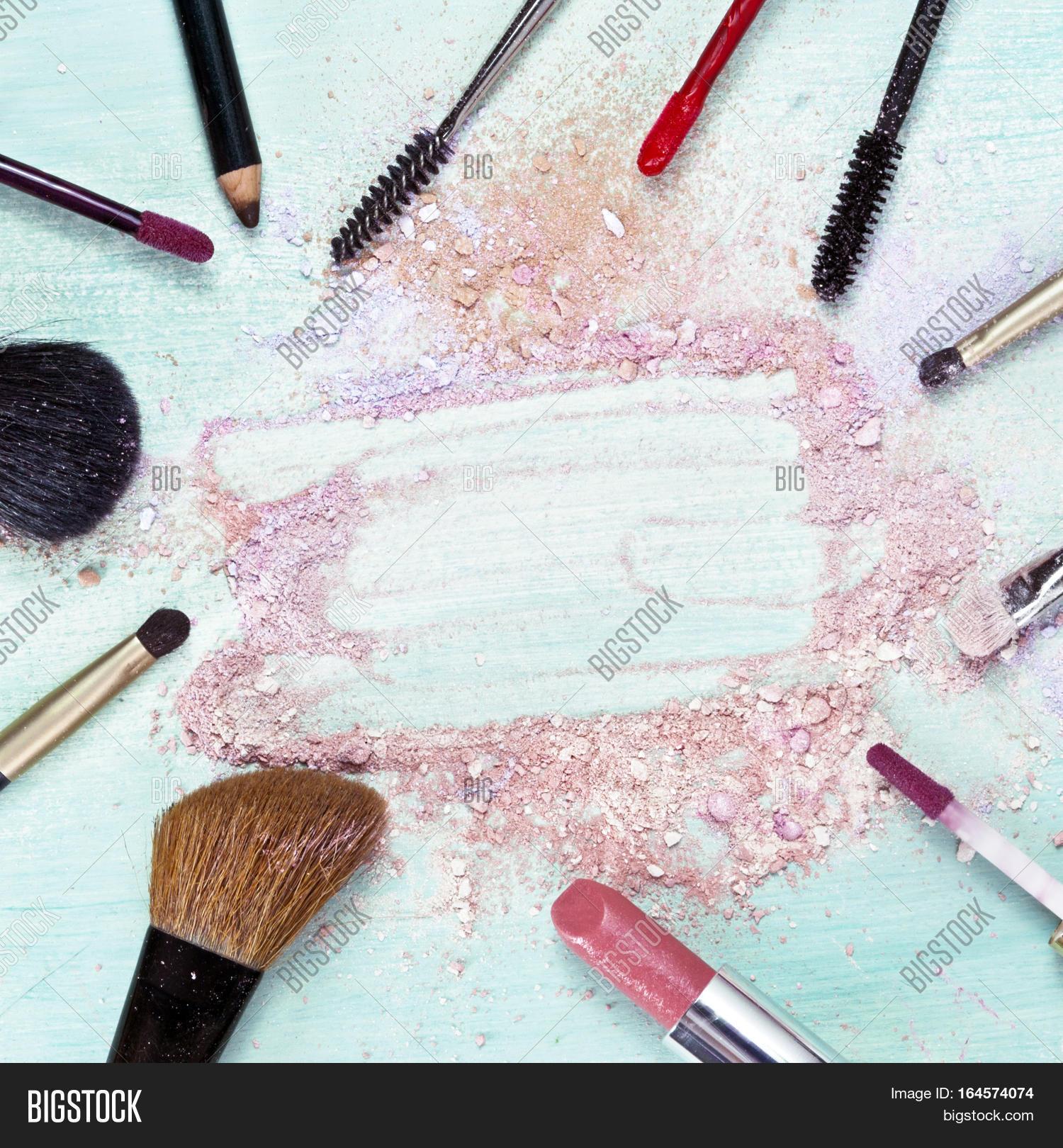 Makeup Brushes Image & Photo (Free Trial)   Bigstock