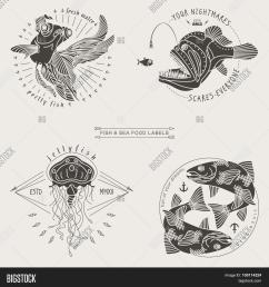 fish labels [ 1500 x 1620 Pixel ]