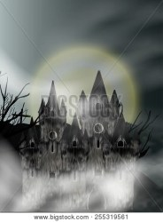 Gothic Castle Fog Vector & Photo Free Trial Bigstock