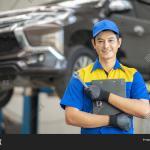 Asian Man Car Service Image Photo Free Trial Bigstock