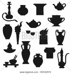 Ancient Pottery Vector & Photo Free Trial Bigstock