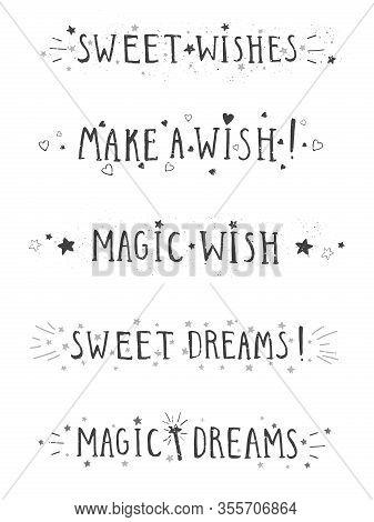 Dream Phrases : dream, phrases, Vector, Drawn, Photo, (Free, Trial), Bigstock