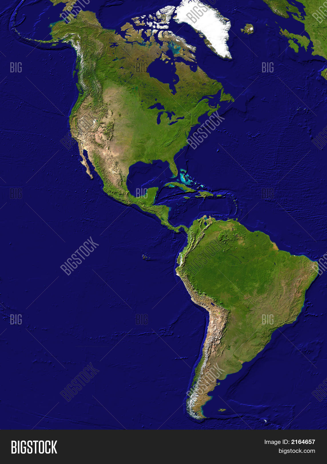 map american continent image