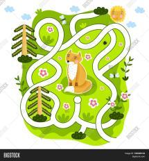 maze raster game &