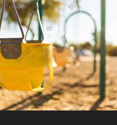 play park toddler swings in a row depth of field view and close up of [ 1500 x 1032 Pixel ]