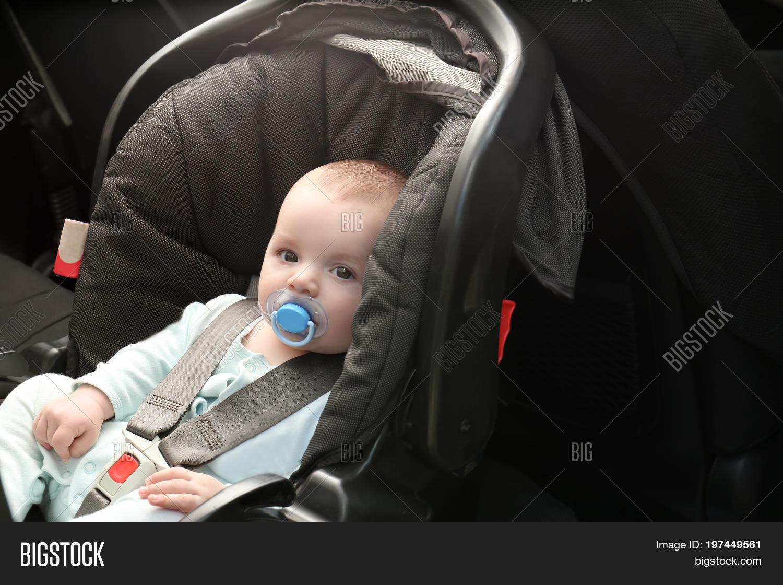 cute baby boy pacifier