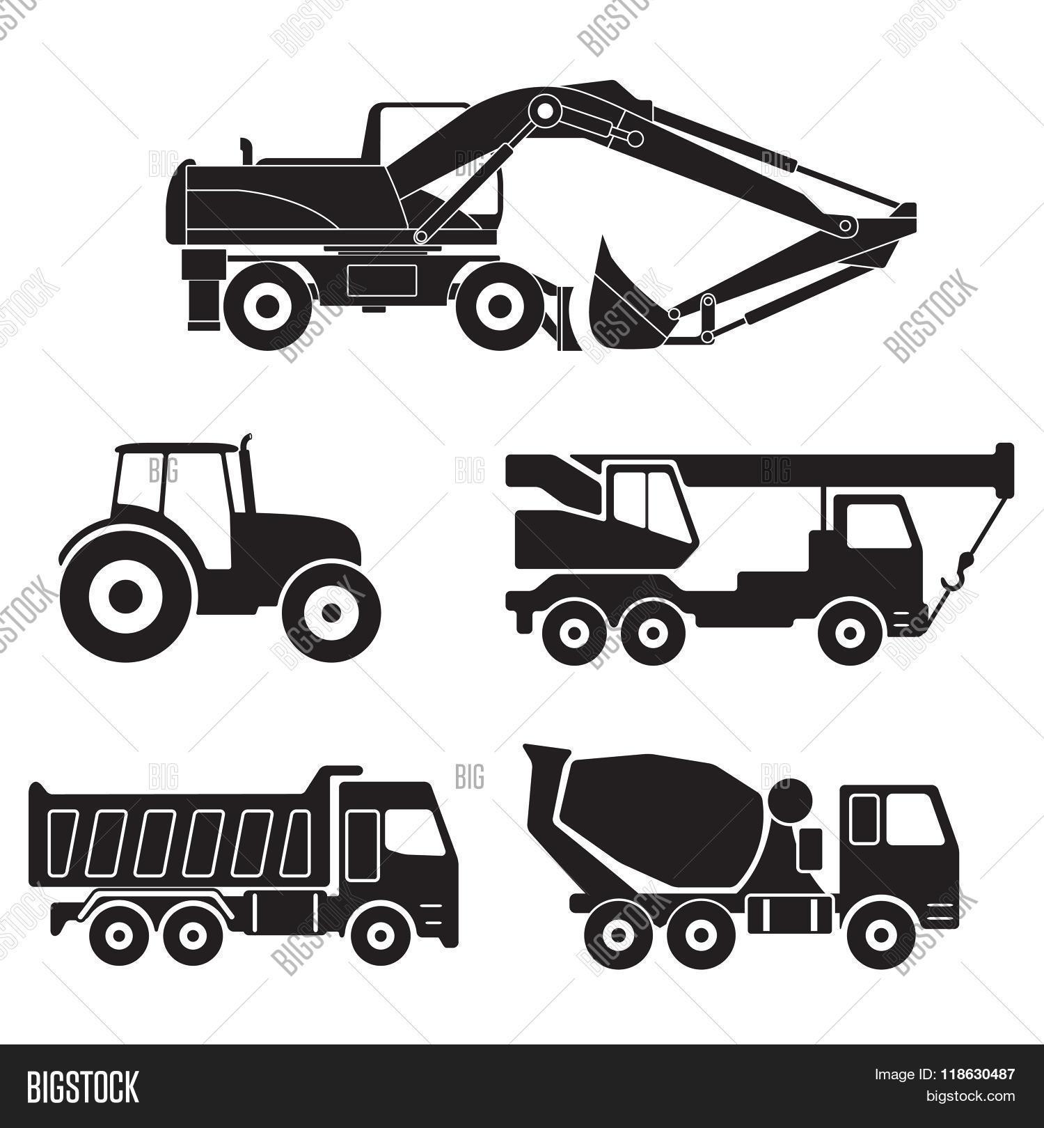 Construction Trucks Vector Amp Photo Free Trial