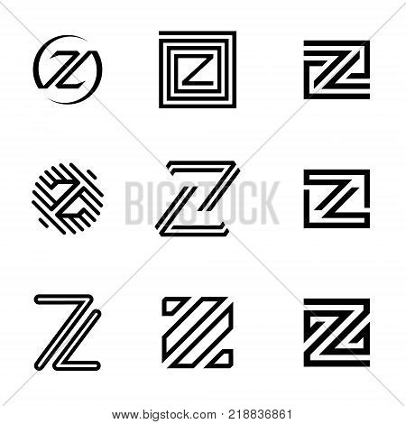 letter z vector vector