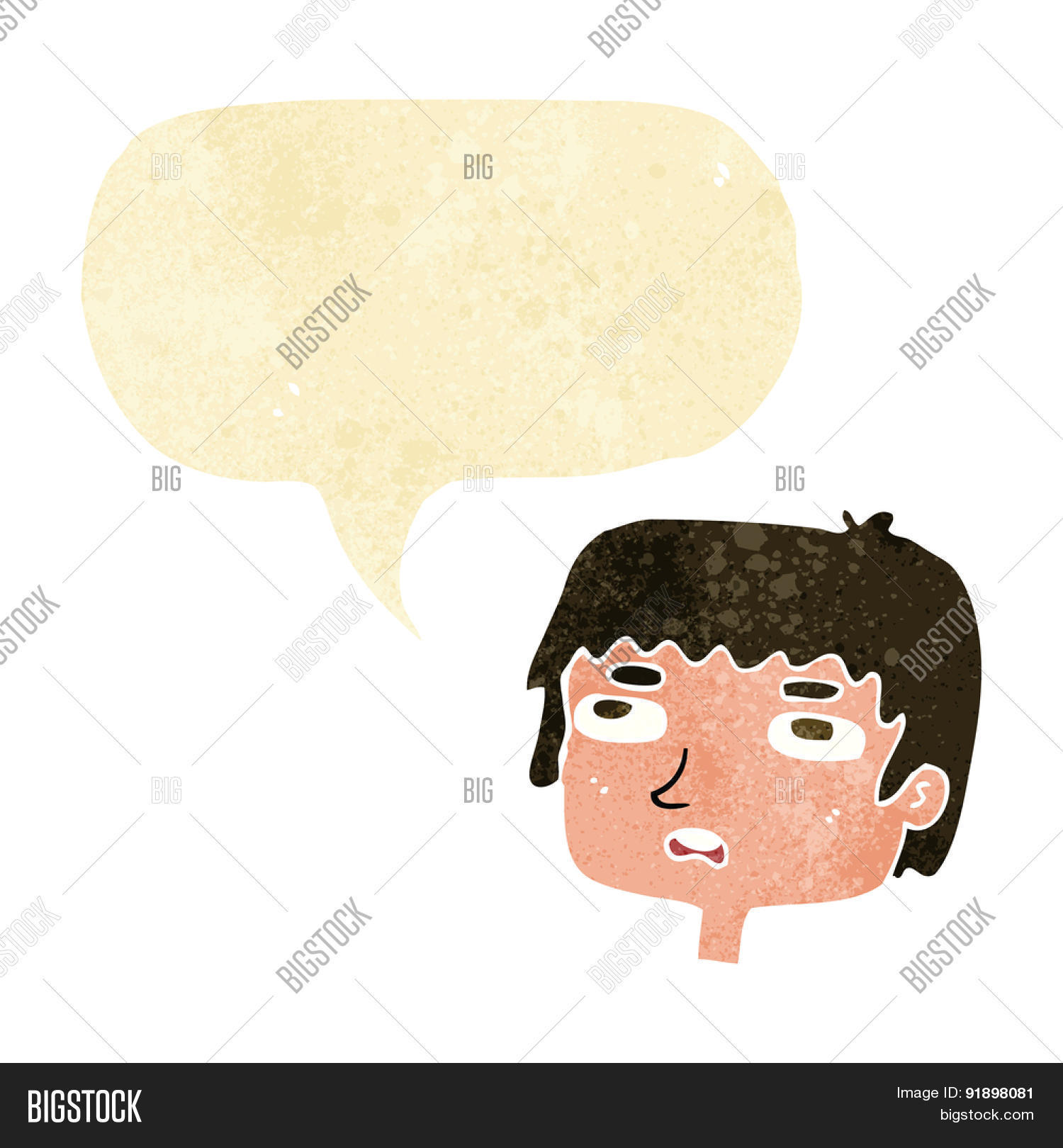 hight resolution of cartoon unhappy face with speech bubble