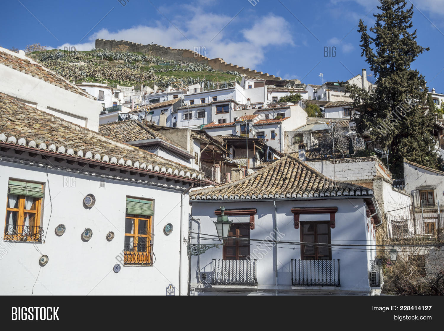 Granada Spain Image Photo Free Trial Bigstock