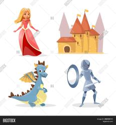 Cartoon Medieval Fairy Image & Photo Free Trial Bigstock