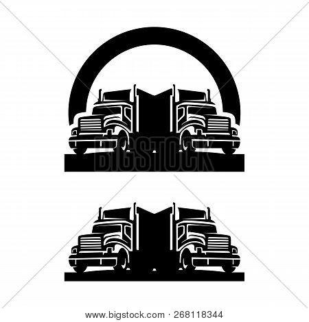 trucking company logo vector