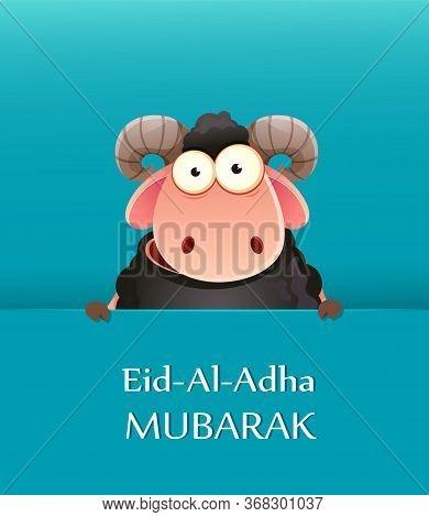 Eid Ul Adha Funny Greeting Cards : funny, greeting, cards, Al-adha, Mubarak, Vector, Photo, (Free, Trial), Bigstock
