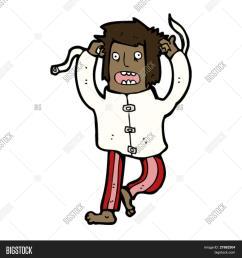 crazy person cartoon [ 1500 x 1620 Pixel ]