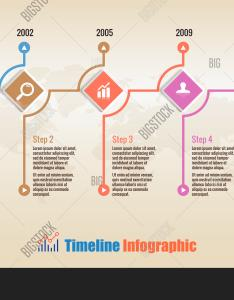 Infographic timeline time line technology business chart layout also vector  photo free trial bigstock rh bigstockphoto