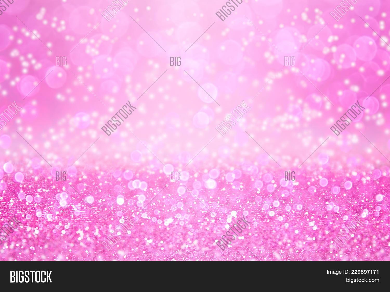 elegant pink glitter image photo