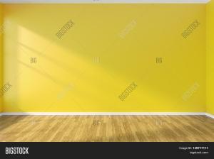 wall empty yellow