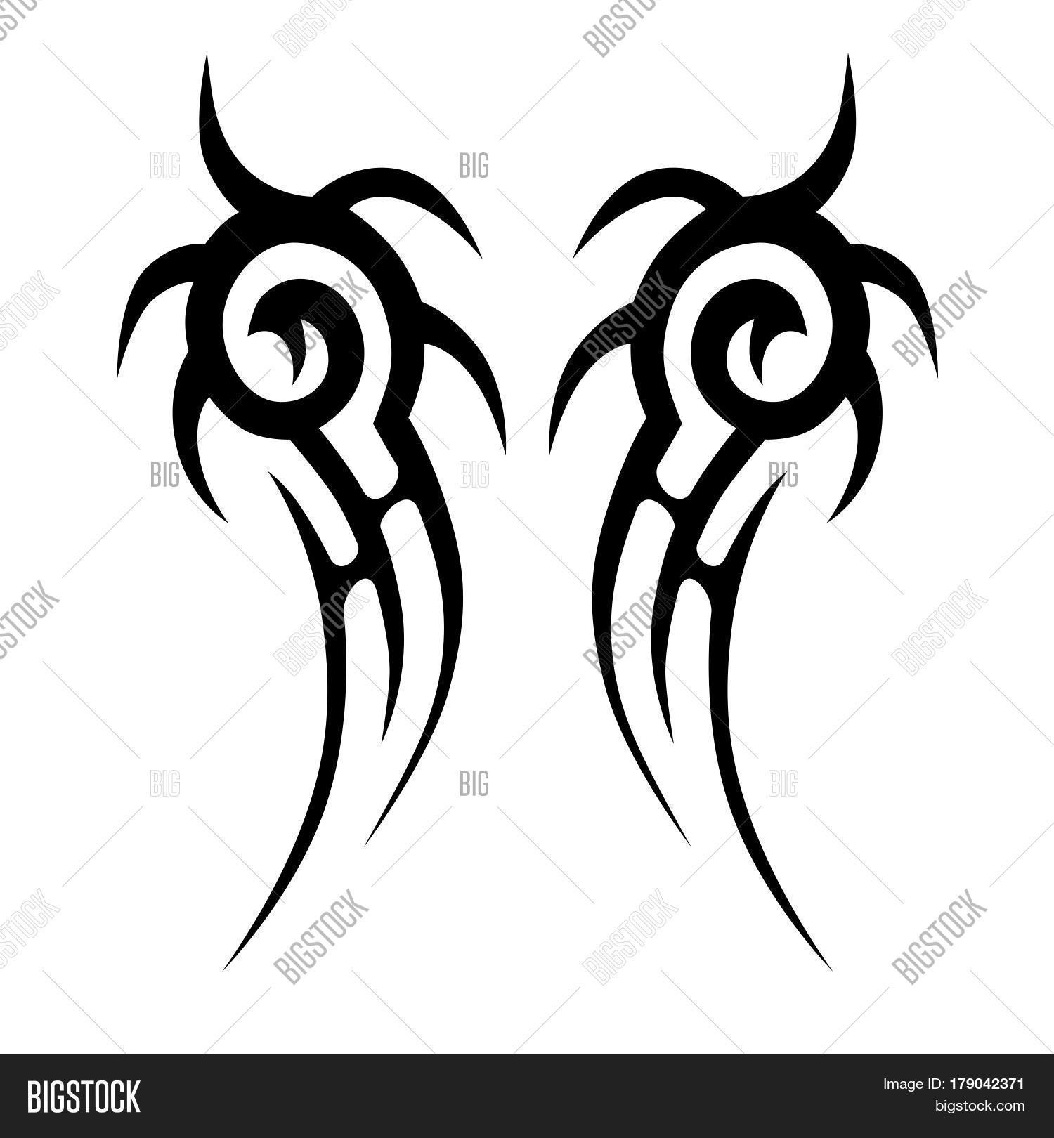 tattoo tribal vector photo