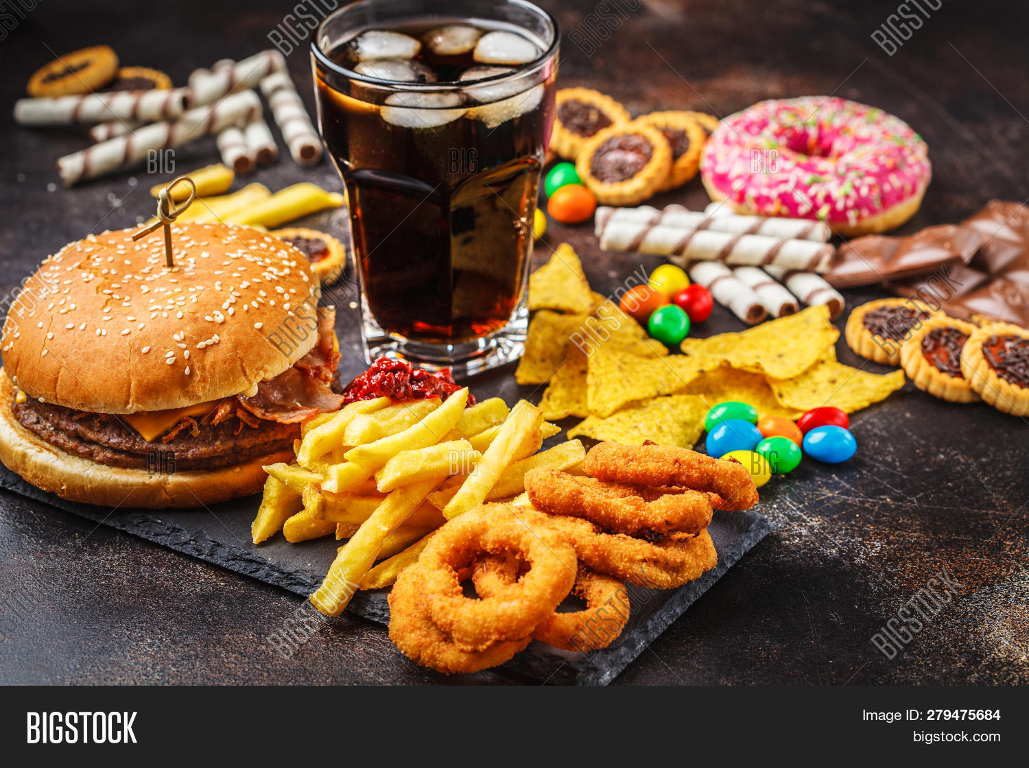 Junk Food Concept Image Amp Photo Free Trial