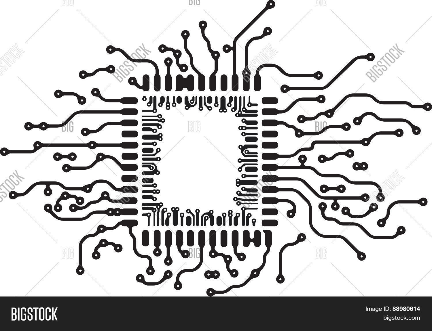 Background Pcb Layout Vector Amp Photo Free Trial