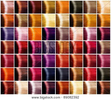 hair colors palette hair