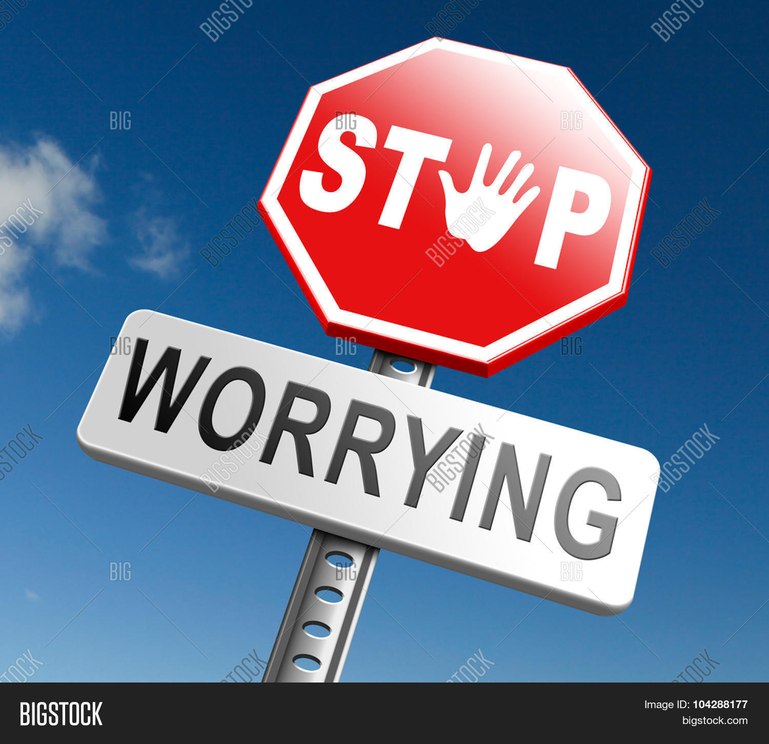 Stop Worrying No More Worries Solve All Problems And Relax