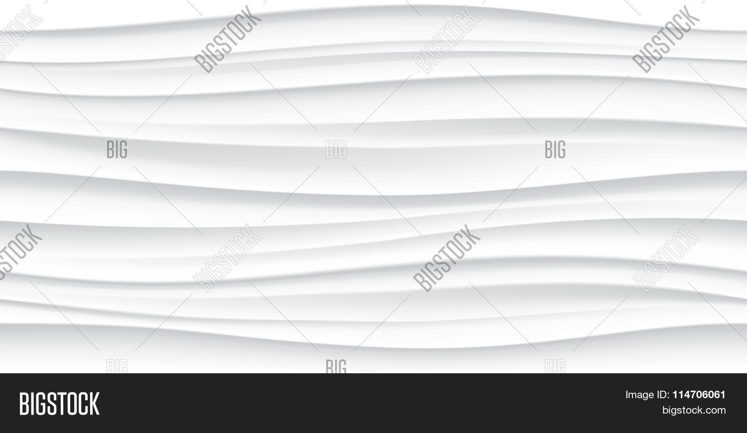 White Seamless Wave Texture Vector Amp Photo