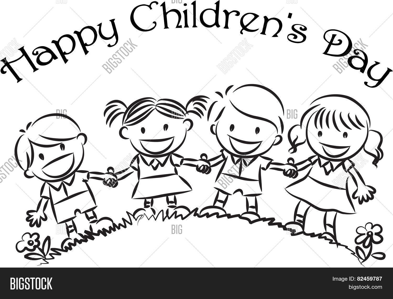 Happy Children S Day Stock Vector Amp Stock Photos