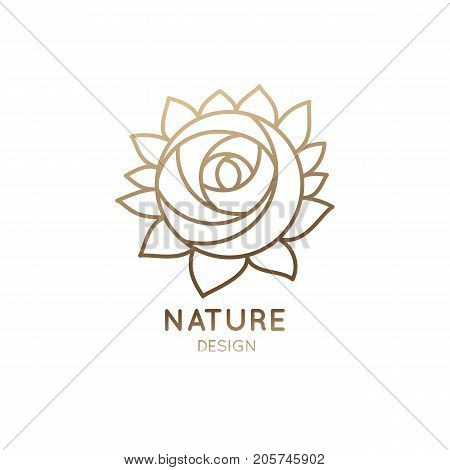 vector logo of floral