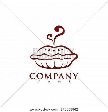 Bakery Shop Logo Template Vector Design Element Vintage Style For