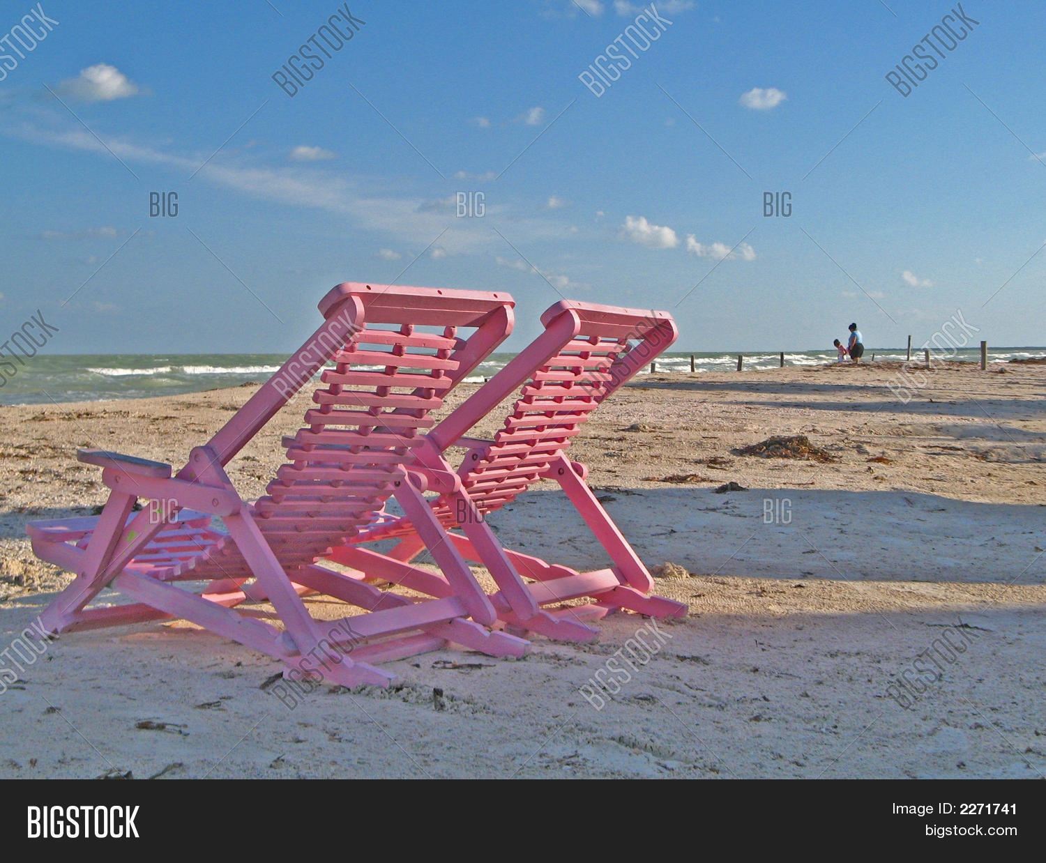 pink beach chair cheap plastic lounge chairs image and photo bigstock