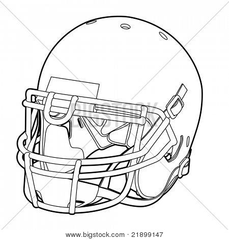 Helmet Outline