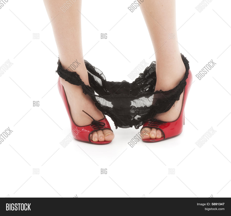 Beautiful Woman Panties Around Her Image & Photo   Bigstock