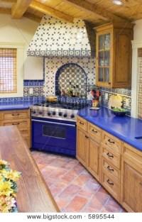 Spanish Style Kitchen Image & Photo | Bigstock