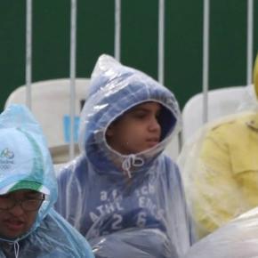 Nem mesmo entidade de índio salva Olimpíada da chuva