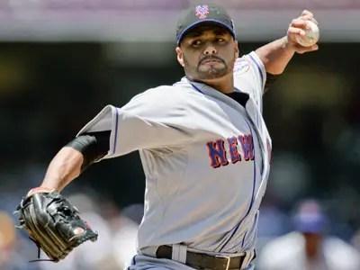 #3 Johan Santana, New York Mets